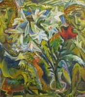 ArtMoiseeva.ru - Flowers - Two persons and flowers