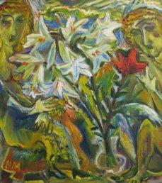 ArtMoiseeva.ru - Flowers - Two persons and flowers