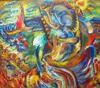 """Наталья Моисеева - Картина с выставки """"Потерянный рай"""""""