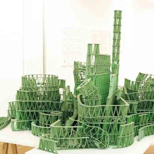 Джереми Лаффон скульптура из жвачек-2