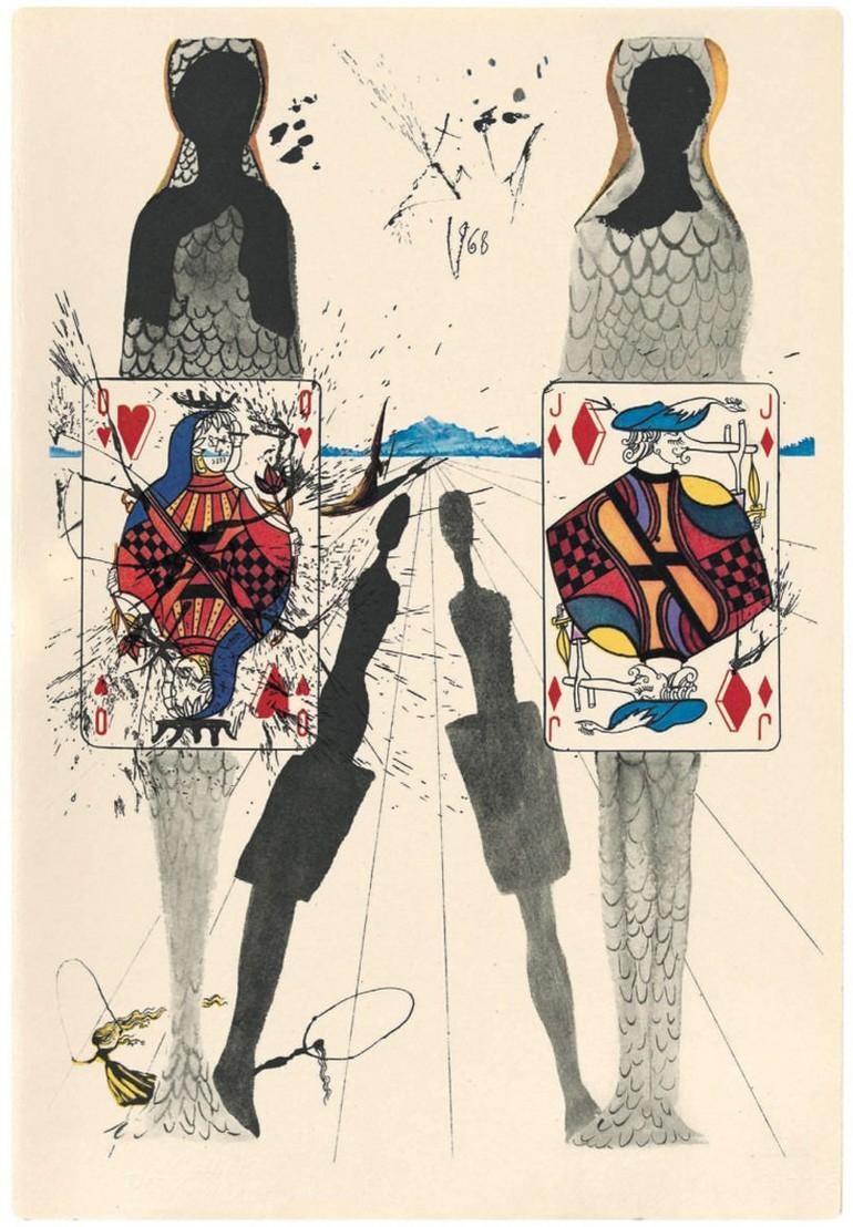Иллюстрации к «Алисе в стране чудес» создал Сальвадор Дали