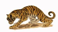 Jean-Claude Fourneau tigre