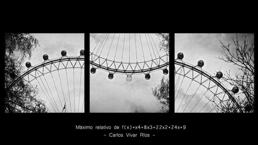 """1º Premio. II Concurso de Fotografía """"Las Matemáticas están ahí""""   London 2009"""
