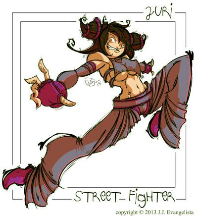 juri street fighter cosplay