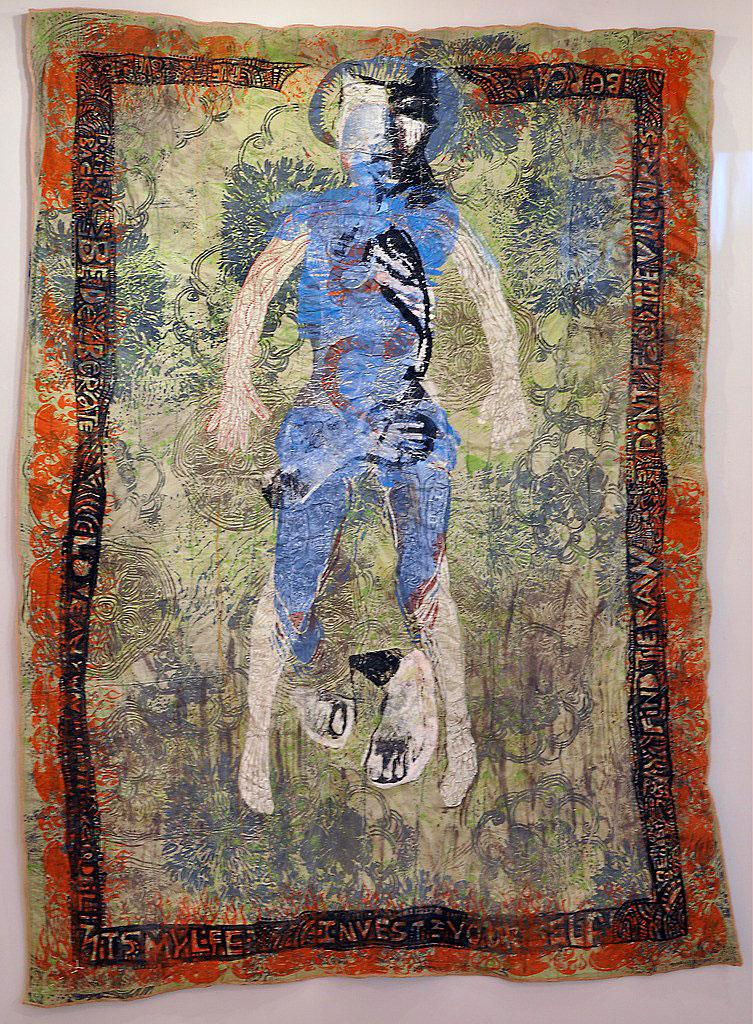 Quilt: Dissection of Eve by Woodie Anderson