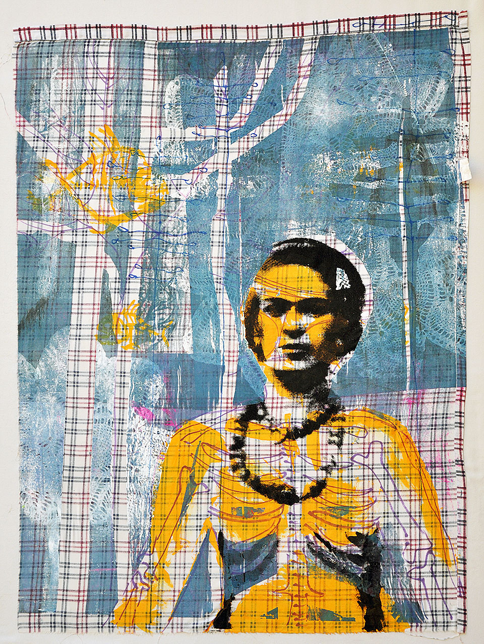 painting: Frida/Thirsty by Woodie Anderson