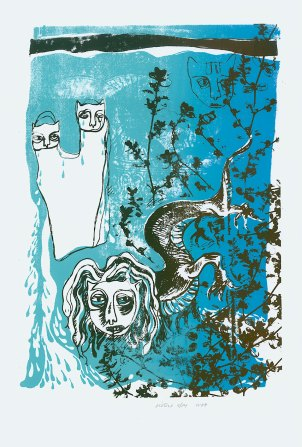 Print: Sisters by Woodie Anderson