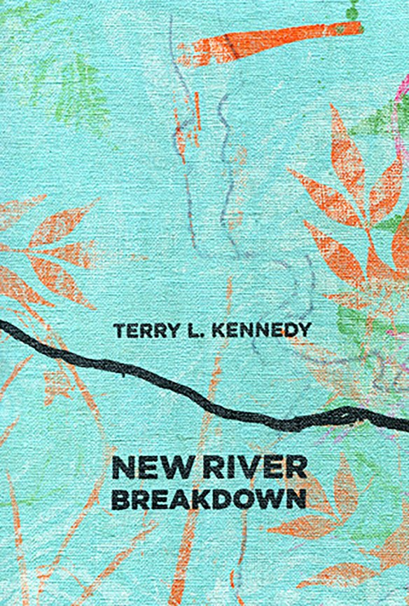 Anderson's New River Breakdown book cover design
