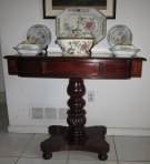 Early 19th C. British Colonial Pedestal Table from Jamaica, West Indies, c 1835