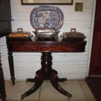 Early 19th C. British Colonial Card Table from Jamaica, West Indies, c 1810