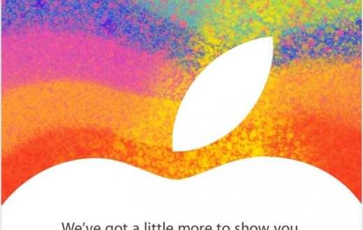 Apple iPad Event Octobre