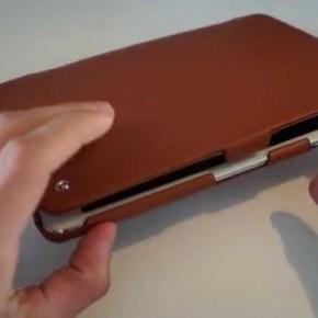 Test d'une Housse Noreve pour iPad Mini  1