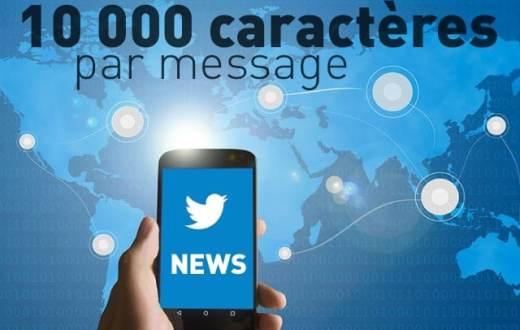 Twitter se prépare à augmenter la limite des tweets à 10.000 caractères 1