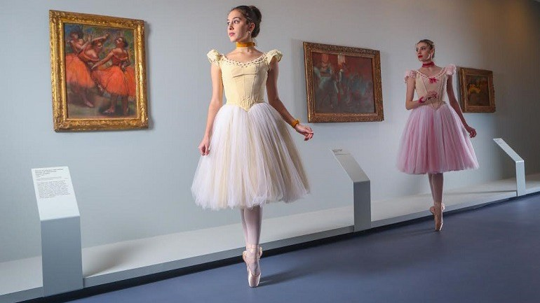 Edgar Degas Dancers Come to Life in the Gallery