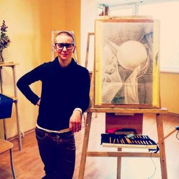 113-Ольга Ковалева, 2- мес, ДК, Веб-дизайнер начинающий художник,