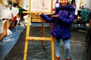 120 — Мария Корбут 11 лет 3 мес, начинающий художник, школьница