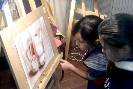 Академический рисунок карандашом