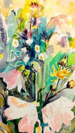 Akvarel'nyy etyud s tsvetami (6)