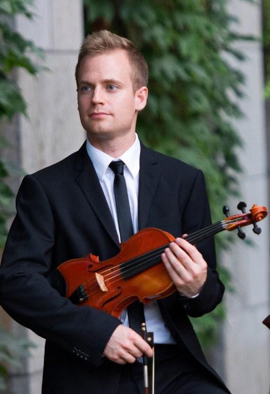 Marc Djokic, violinist