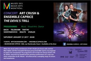 Avery Zhao-Djokic, Art Crush, Montreal, Museum of Fine Arts