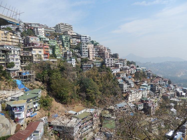 Aizawl City on Hills