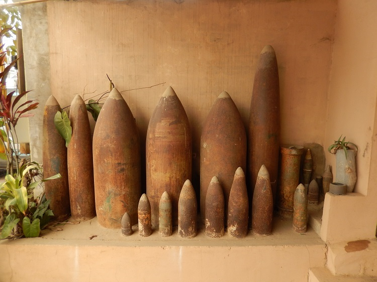 Bombs of War  Lined Up In Loas  40 Years Late