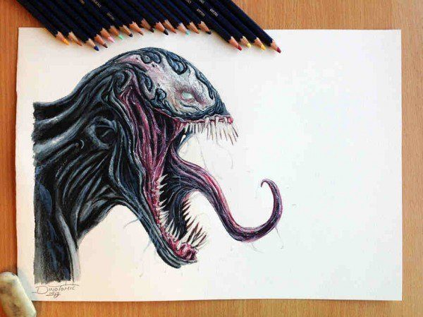 Fantsticos dibujos a lpiz de Dino Tomic  Arte Feed