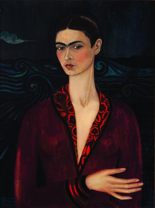 """""""Autorretrato con traje de terciopelo"""". 1926"""
