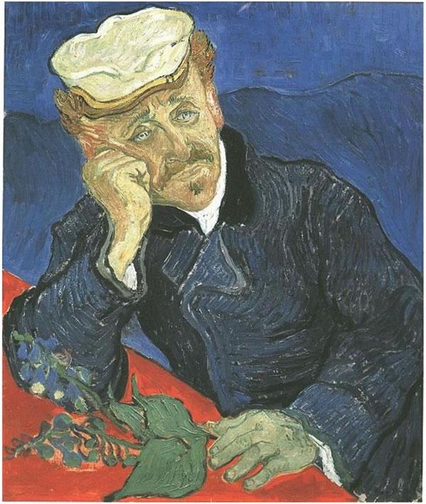 Retrato del doctor Gachet