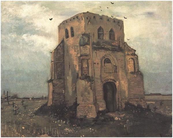 Torre Vieja Iglesia en Nuenen