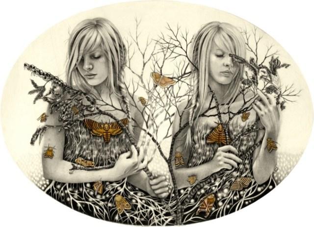 Dibujos carboncillo Alessia Iannetti 3