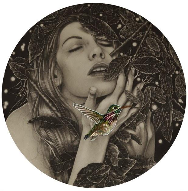 Dibujos carboncillo Alessia Iannetti  7