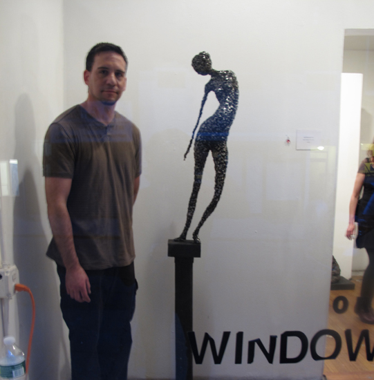 Seth Zimiles' at Orchard Windows Gallery for his solo exhibition