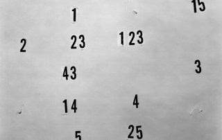 Numbers by Lucas Blalock, 2011