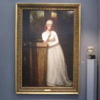 "eorge ROMNEY ""Portrait of Anne, Marchioness Townshend"" 1794 oil on canvas 88 x 59 inches $625,000 at Richard L. Fiegen & Co."