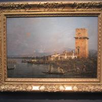 "ntonio CANAL (called CANALETTO) ""The Torre di Marghera"" undated oil on canvas 12 x 18 inches €2,200,000 at Robilant + Voena"