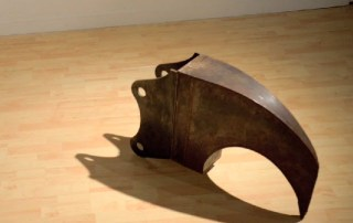 Ripper Tooth Original - Steel Sculpture by James Capper