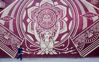 Mural by Shepard Fairey