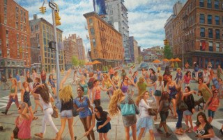 John A. Parks In New York at Gallery Thomas Jaeckel 4