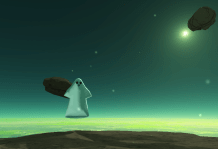 Friendly Ghost really just wants to help.