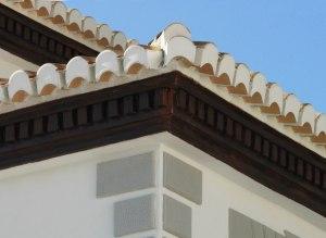 Cascarilla de moldura para cornisa de tejado