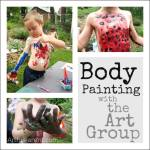 Body Painting with the Art Group
