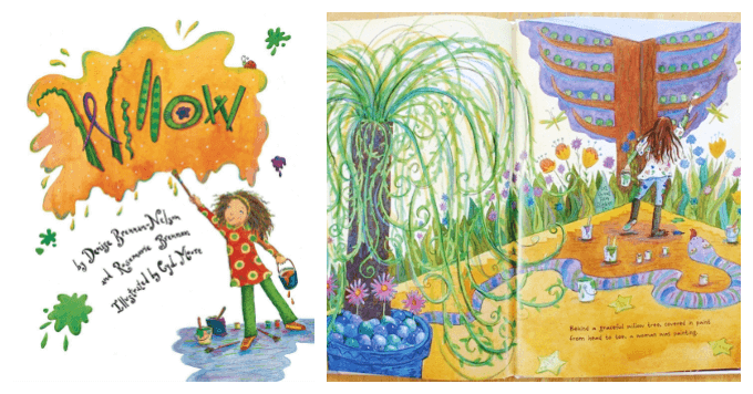 Willow Childrens Book about Art and Creativity