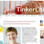 An interview and giveaway on TinkerLab