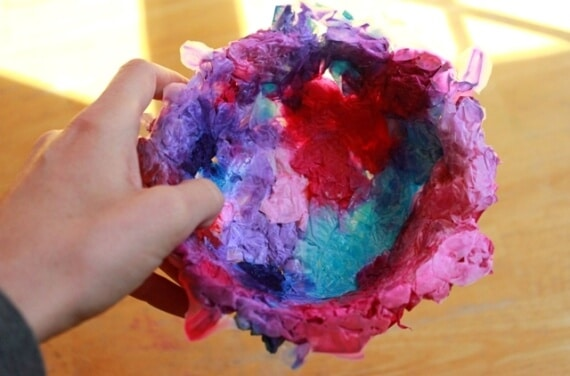 Easter Bird Nest Craft for Kids