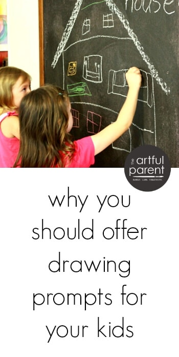 Creative Drawing Ideas for Kids - Why You Should Offer Drawing Prompts