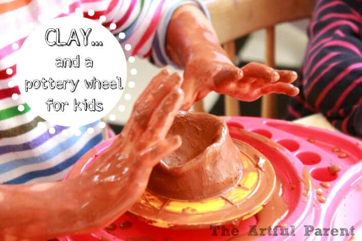 Clay... and a Pottery Wheel for Kids