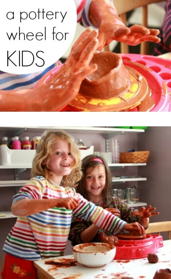 A Pottery Wheel for Kids