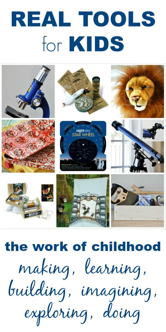 Quality Tools for Kids from Imagine Childhood