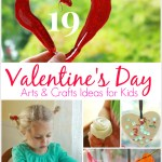19 Valentine's Day Arts & Crafts Ideas for Kids